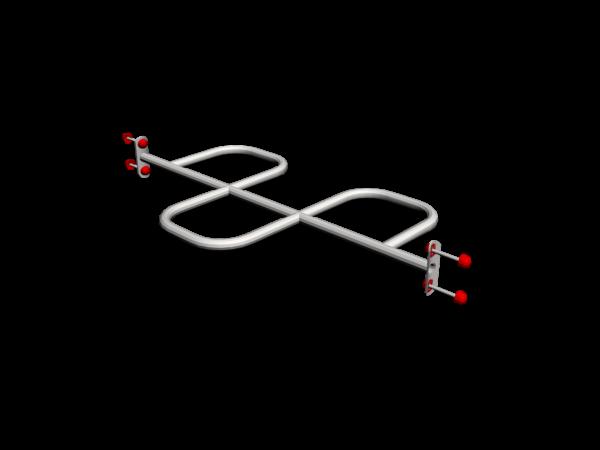 Зигзаг горизонтальный короткий ММ-03