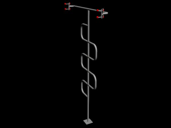 Зигзаг вертикальный ММ-07