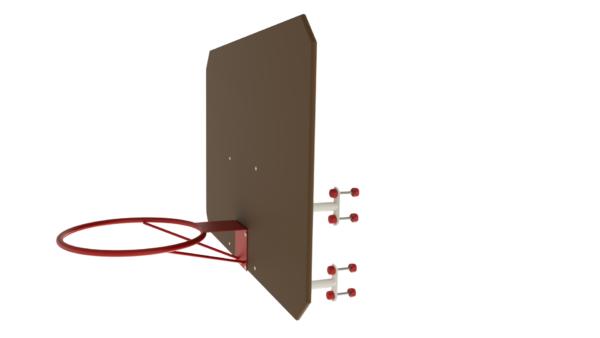 Баскетбольное кольцо со щитом ММ-15