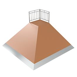Элемент для скейт-площадки ММ-200 Corner Bank