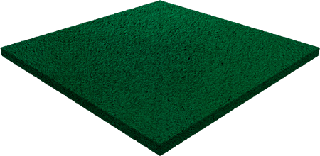 Травмобезопасная резиновая плитка — 20 мм