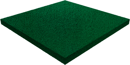 Травмобезопасная резиновая плитка — 30 мм